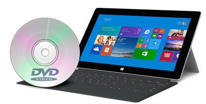How to watch DVD movies on Surface 2?