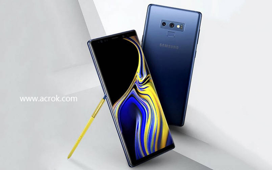 Galaxy Note 9 supported formats