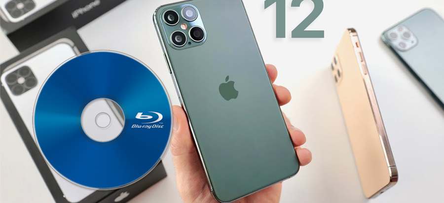 Transfer/copy Blu-ray to iPhone 12 Pro Max for watching