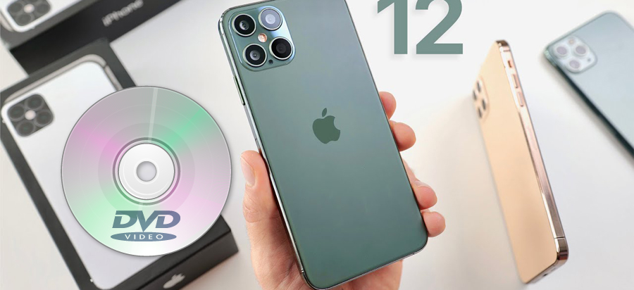 Best way to play DVD movies on iPhone 12 Pro Max