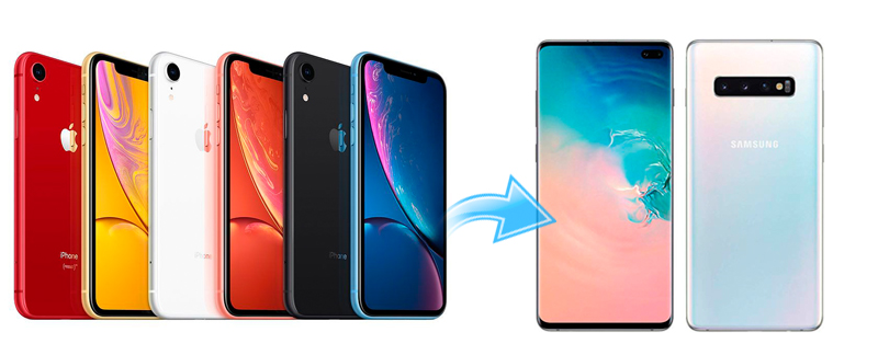 Simple 3 ways to Sync iPhone Data to Galaxy S10