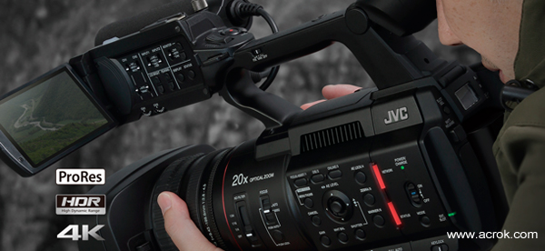Import JVC GY-HC500 4K MP4/MOV into Premiere Pro CC