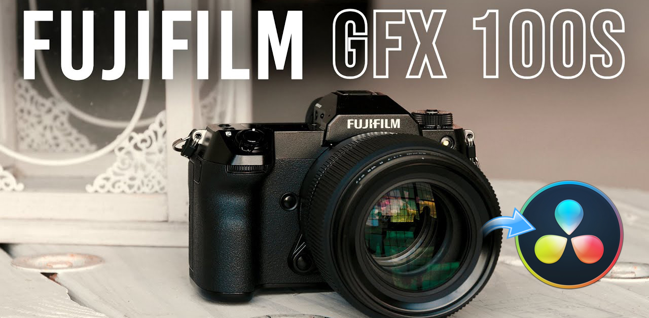 How to edit Fujifilm GFX 100S 4K H.265 MOV in DaVinci Resolve