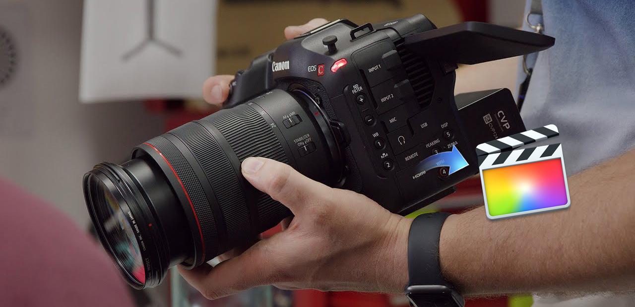 Canon EOS C70 Final Cut Pro - Edit EOS C70 MXF in Final Cut Pro